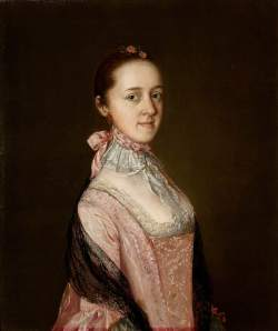 Gainsborough's portrait of Caroline Acton