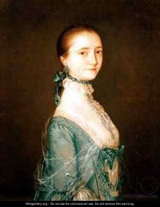 Gainsborough's portrait of Elizabeth Colville